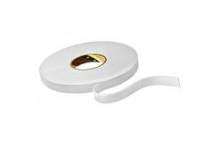 3M 9515W Szerelési kétoldalas habszalag, fehér, 12 mm x 3 m
