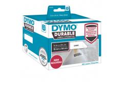 Dymo 1933085, 64mm x 19mm, fehér, polypropylen, eredeti szalag