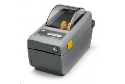 "Zebra ZD410 ZD41022-D0EE00EZ címkenyomtató, 2"" Direct Thermal, 203 dpi, with USB, USB Host, BTLE , 10/100 LAN"