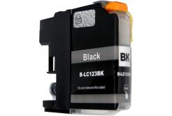 Brother LC-123 fekete (black) kompatibilis tintapatron