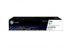 HP 117A W2071A cián (cyan) eredeti toner