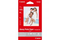 """Canon GP-501 Glossy Photo Paper, fotópapírok, fényes, fehér, 10x15cm, 4x6"""", 210 g/m2, 50 db, 0775B081"""