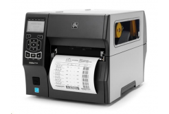 Zebra ZT420 ZT42062-T4E0000Z címkenyomtató, 8 dots/mm (203 dpi), peeler,rewinder,RTC,display,EPL,ZPL,ZPLII,USB,RS232,BT,Ethernet