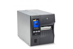 "Zebra ZT411 ZT41143-T3E0000Z címkenyomtató, 4"" címkenyomtató,(300 dpi),peeler,disp. (colour),RTC,EPL,ZPL,ZPLII,USB,RS232,BT,Ethernet"