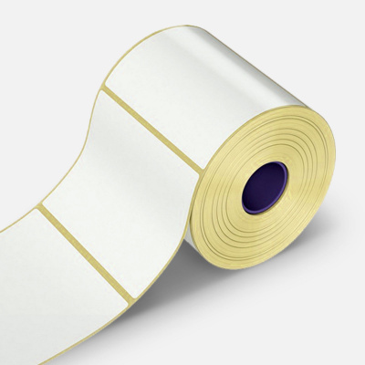 Öntapadós címkék 80x120 mm, 500 db, papír, TTR, tekercs