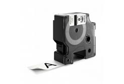 Dymo 1734523, 24mm x 5, 5m fekete nyomtatás / fehér alapon, poliészter, kompatibilis szalag