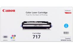 Canon CRG-717 cián (cyan) eredeti toner