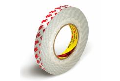 3M 9088-200 Kétoldalas ragasztószalag, 6 mm x 50 m, tl. 0,20 mm (piros logo)