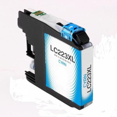Brother LC-223XL cián (cyan), kompatibilis tintapatron