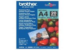 Brother BP71GA4 Glossy Photo Paper, fotópapírok, fényes, fehér, A4, 260 g/m2, 20 db