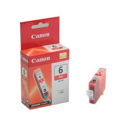 Canon BCI-6R piros (red) eredeti tintapatron