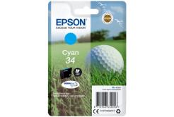 Epson T34624010, T346240 cián (cyan) eredeti tintapatron