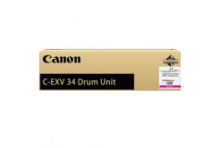 Canon C-EXV34M bíborvörös (magenta) eredeti fotohenger