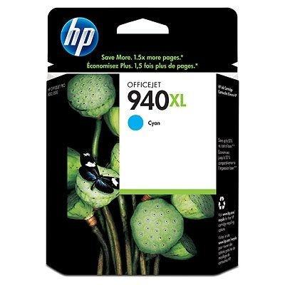 HP C4907AE č.940XL cián (cyan) eredeti tintapatron, prošlá expirace