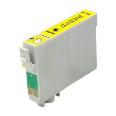 Epson T0614 sárga (yellow) kompatibilis tintapatron