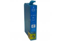 Epson T3472 cián (cyan) kompatibilis tintapatron
