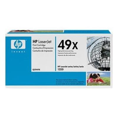 HP 49X Q5949X fekete (black) eredeti toner