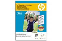 """HP Q8696A Advanced Glossy Photo Paper, fotópapírok, fényes, fehér, 13x18cm, 5x7"""", 250 g/m2, 25 db"""