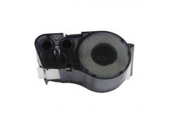 Brady M21-750-595-WT / 142797, vinyl, 19.05 mm x 6.40 m, fekete nyomtatás / fehér alapon, kompatibilis szalag