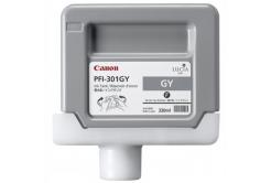 Canon PFI-301GY, 1495B001 szürke (grey) eredeti tintapatron