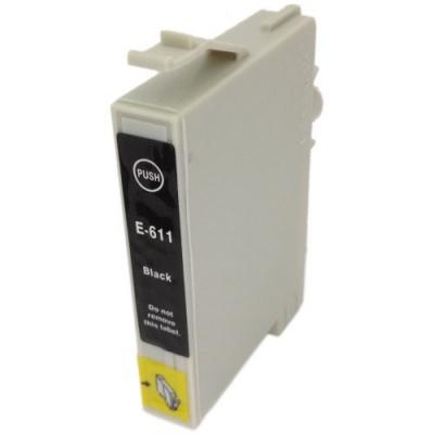 Epson T0611 fekete (black) kompatibilis tintapatron
