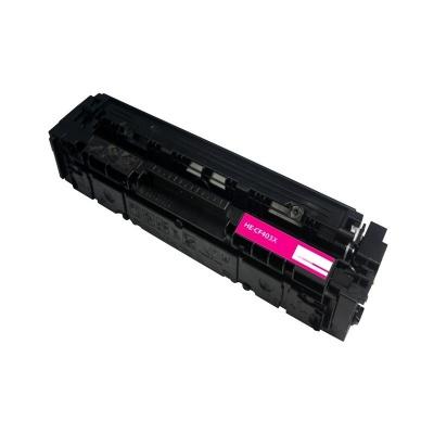 HP 201X CF403X bíborvörös (magenta) kompatibilis toner