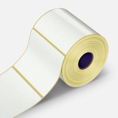 Öntapadós címkék 100x80 mm, 500 db, papír, TTR, tekercs