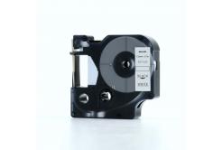Dymo 45013, S0720530, 12mm x 7m fekete nyomtatás / fehér alapon, kompatibilis szalag