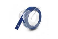 Dymo S0898140, 9mm x 3m, fehér nyomtatás / kék alapon, kompatibilis szalag