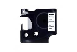 Dymo 5379C, 24mm x 4m, fekete nyomtatás / fehér alapon, tisztítás, kompatibilis szalag