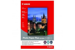 """Canon SG-201 Photo Paper Plus Semi-Glossy, fotópapírok, polofényes, szatén, fehér, 10x15cm, 4x6"""", 50 db"""