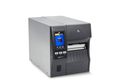 "Zebra ZT411 ZT41146-T4E0000Z címkenyomtató, 4"" címkenyomtató,(600 dpi),peeler,rewinder,disp. (colour),RTC,EPL,ZPL,ZPLII,USB,RS232,Ethernet"