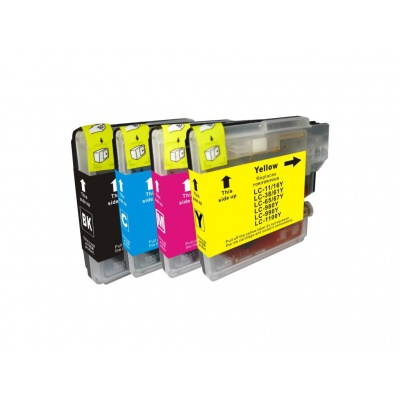Brother LC-980/LC-985/LC-1100 multipack kompatibilis tintapatron