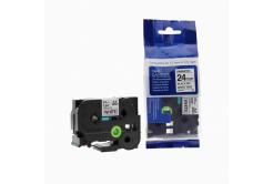 Brother TZ-251 / TZe-251, 24mm x 8m, fekete nyomtatás / fehér alapon, kompatibilis szalag