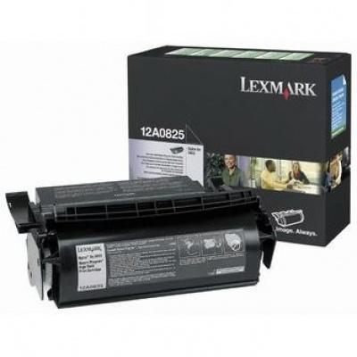 Lexmark 12A0825 fekete (black) eredeti toner