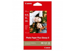"""Canon PP-201 Photo Paper Plus Glossy, fotópapírok, fényes, fehér, 10x15cm, 4x6"""", 275 g/m2, 50 db"""