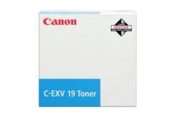 Canon C-EXV19 cián (cyan) eredeti toner