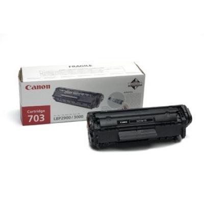 Canon CRG-703 fekete (black) eredeti toner