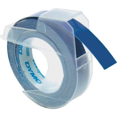 Dymo S0898140, 9mm x 3m, fehér nyomtatás / kék alapon, eredeti szalag