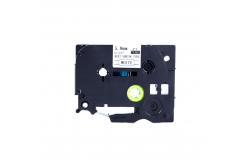 Brother HSe-111 5,8mm x 1,5m, fekete nyomtatás / átlátszó alapon, kompatibilis szalag