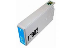 Epson T7902 cián (cyan) kompatibilis tintapatron