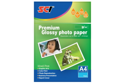 SCI GPP-180 Glossy Inkjet Photo Paper, 180g, A4, 20 lap, fényes fotópapír