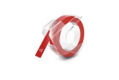 Dymo S0898150, 9mm x 3m, fehér nyomtatás / vörös alapon, kompatibilis szalag