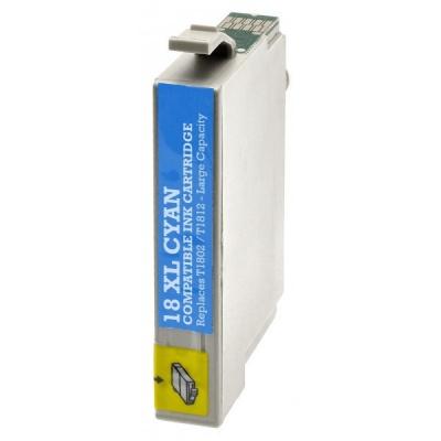Epson T1812 XL cián (cyan) kompatibilis tintapatron