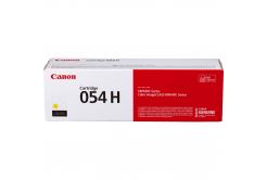 Canon eredeti toner 054HY, yellow, 2300 oldal, 3025C002, high capacity, Canon i-SENSYS LBP621Cw, 623Cdw, MF641Cw, 643Cdw, 645Cx
