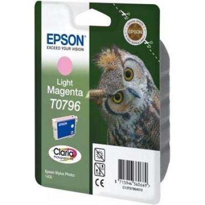 Epson C13T079640 világos bíborvörös (light magenta) eredeti tintapatron