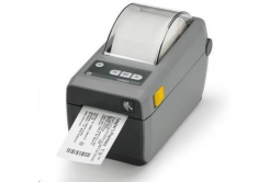 Zebra ZD410 ZD41023-D0EE00EZ címkenyomtató, 12 dots/mm (300 dpi), MS, RTC, EPLII, ZPLII, USB, BT (BLE), Ethernet, dark grey