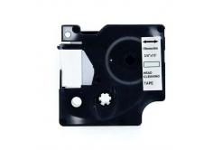 Dymo 4589C, 19mm x 4m, fekete nyomtatás / fehér alapon, tisztítás, kompatibilis szalag