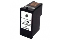 Lexmark 34XL 18C0034E fekete (black) utángyártott tintapatron