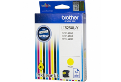 Brother LC-525XLY sárga (yellow) eredeti tintapatron